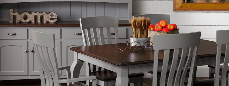 Cabinfield.com farmhouse dining room furniture