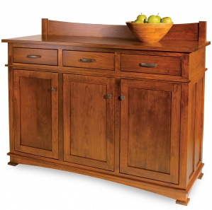 Towne Cross Amish Buffet with Mirror Option