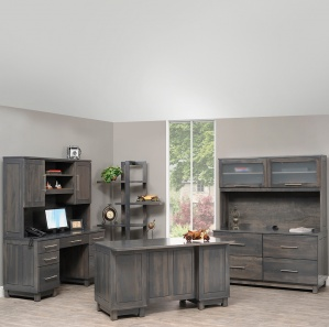 Urban Deluxe Amish Office Furniture Set