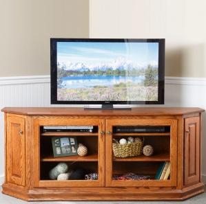 Leighton Large Corner TV Cabinet