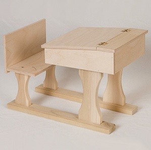 Amish Doll School Desk