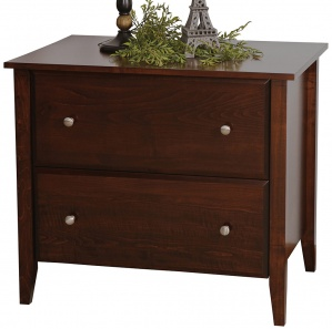 Horizons Amish Lateral File Cabinet