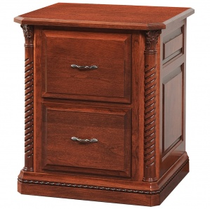Lexington 2/3/4 Drawer Amish File Cabinet