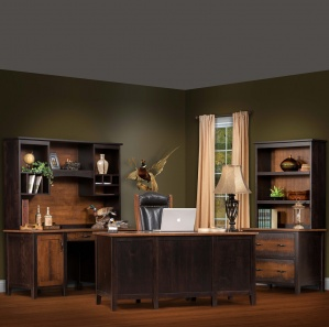 Manhattan Amish Office Furniture Set