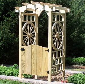 Country Wheel  Arbor