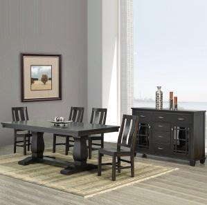 Madrid Amish Dining Room Furniture Set