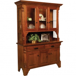 Mattina Amish Buffet & Optional Hutch