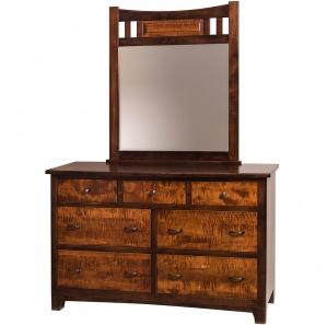 Fairgrove Amish Dresser with Mirror Option