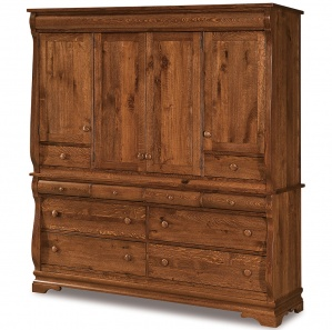 Fontaine Deluxe Amish Mule Chest of Drawers