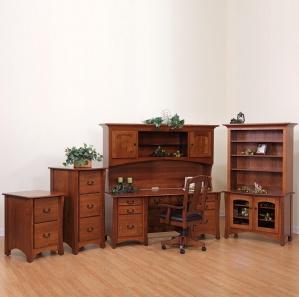 Master Amish Office Furniture Set