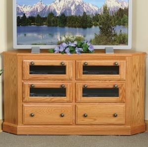 Lansdowne Corner Amish TV Cabinet