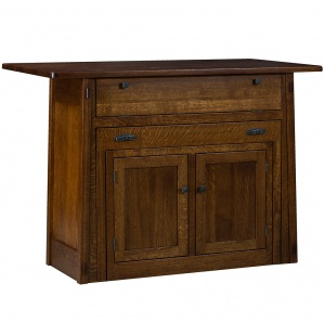 Salida Amish Kitchen Island with Pull-Out Table