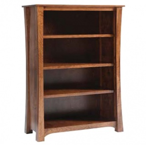 "Woodbury 48""W Adjustable Shelf Bookcase"