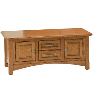 West Lake Coffee Table Cabinet with Optional Lift Top