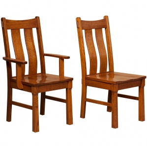 Franciscan Amish Dining Chairs