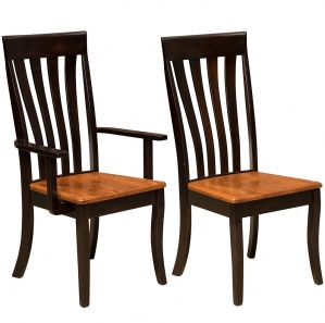 Canterbury Amish Kitchen Chairs