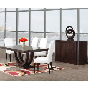 Metro Amish Dining Room Furniture Set