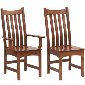 Estes Point Amish Dining Chairs