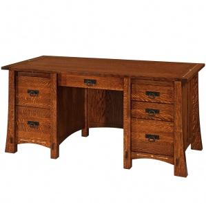 Morgan Computer Desk & Optional Top