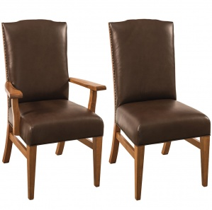 Bow River Amish Dining Chairs