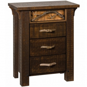 Glen Arbor 3 Drawer Nightstand