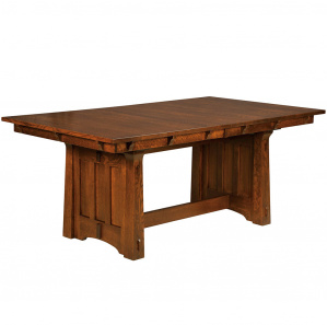 Franciscan Trestle Amish Dining Table