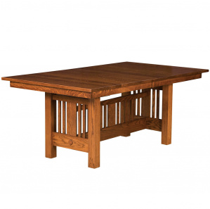 Wilmette Trestle Amish Dining Table