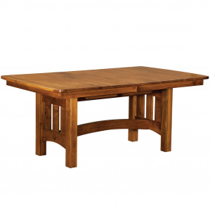 Elgin Avenue Trestle Amish Dining Table