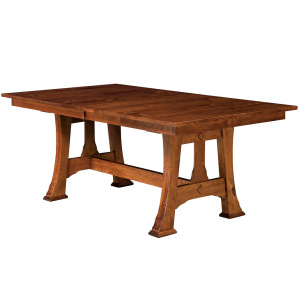 Cambridge Trestle Amish Dining Table