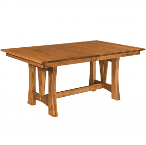 Emmett Trestle Amish Dining Table
