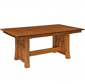 Prescott Trestle Amish Dining Table