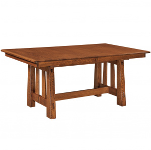 Fremont Trestle Amish Dining Table