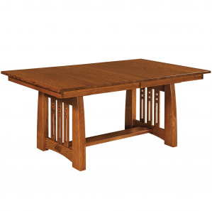 Calumet Heights Trestle Amish Dining Table