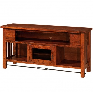 Jordan TV Cabinet with Plank Top