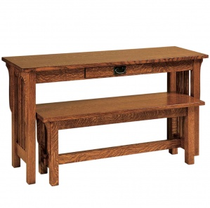 River Road Sofa Table with Optional Bench