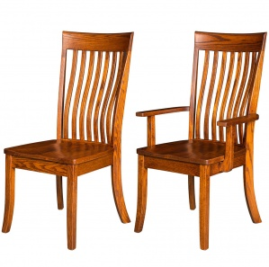 Baytown Amish Dining Chairs & Amish Kitchen Chairs
