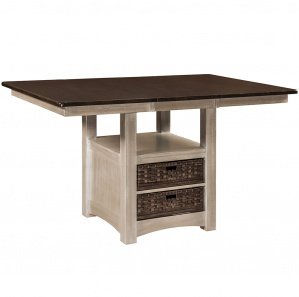 Tinley Park Pub Table with Drawers