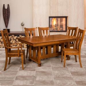 Olde Sleigh Amish Dining Room Furniture Set