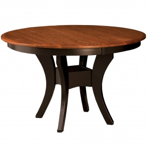 Imperial Single Pedestal Round Dining Table