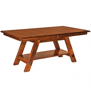 Timber Ridge Trestle Amish Dining Table