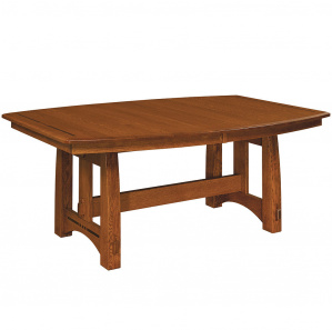 Colebrook Trestle Amish Dining Table