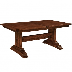 Brookside Trestle Amish Dining Table