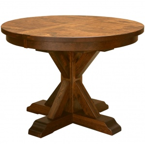 Alberta Round Amish Dining Table