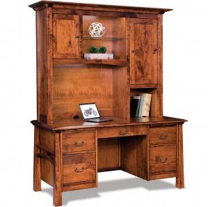 Artesa Amish Desk with Optional Hutch