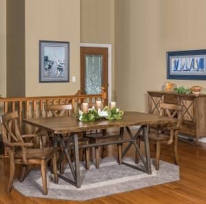 Yukon Amish Dining Room Set
