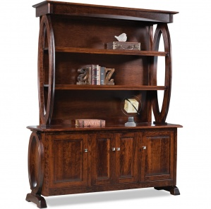 Saratoga Backbar with Optional Hutch