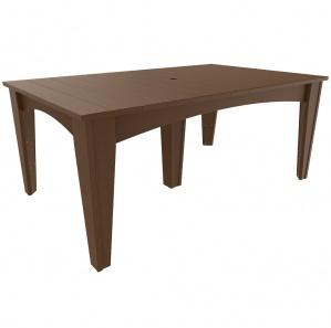 Island Rectangular Outdoor Table