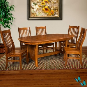 Edgebrook Amish Dining Room Set