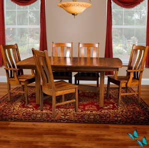 Elgin Avenue Amish Kitchen Table Set