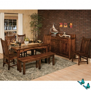 Tinley Park Amish Dining Room Set